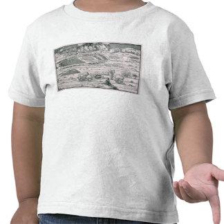 Demonstration der Verteidigungsmaßnahme Tshirt