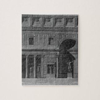Demonstration eines Teils des Innenraums Foto Puzzles