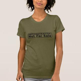 Demonstration: Nicht für Verkauf T-Shirt