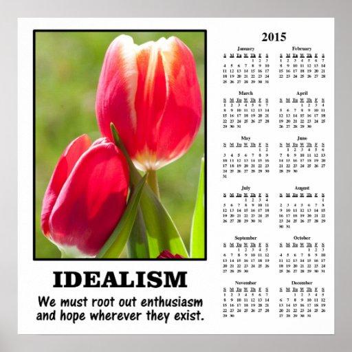 Demotivational Kalender 2015: Wurzeln Sie heraus Plakate