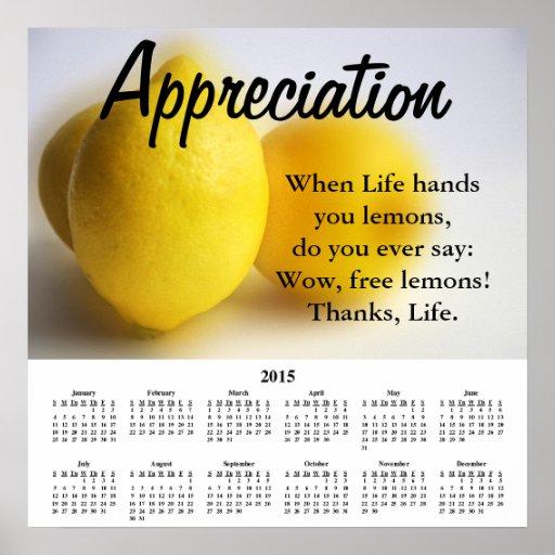 Demotivational Kalender-Anerkennung 2015 Posterdrucke