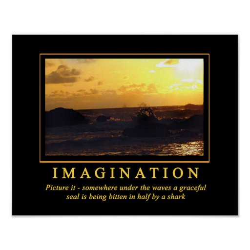 Demotivational Plakat-… Fantasie