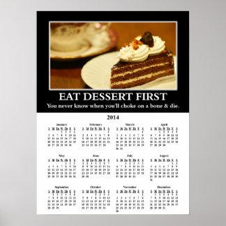 Demotivational Wandkalender 2014 Drosselklappe Plakatdrucke