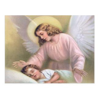 Den Engel der Kinder, Vintag, Wiedergabe schützen, Postkarten