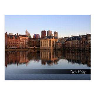 Den Haag Skyline in den Niederlanden Postkarte