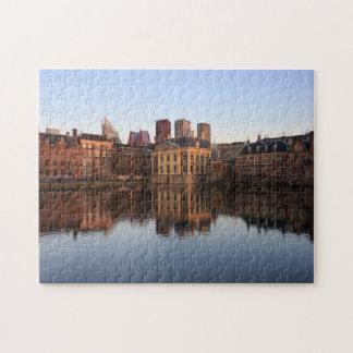 Den Haag Skyline in den Niederlanden Puzzle