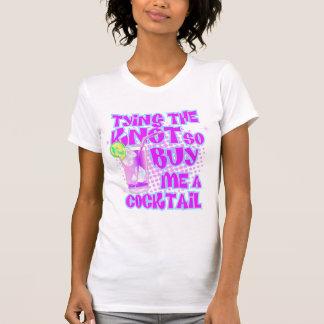Den Knoten binden, kaufen Sie mich so ein Cocktail Shirt