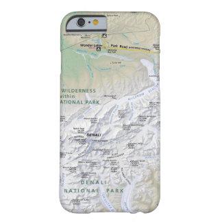 Denali (Alaska) Karten-Telefonkasten Barely There iPhone 6 Hülle