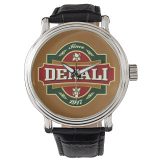 Denali alte Aufkleber-Uhr Armbanduhr