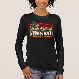 Denali Gebirgsszene Langarm T-Shirt