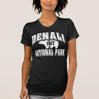 Denali im altem Stil Weiß T-Shirt