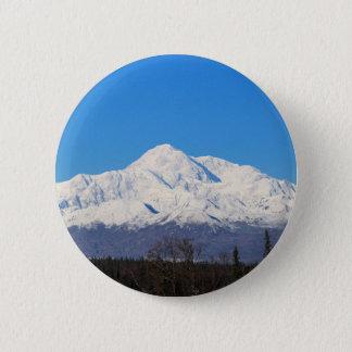 Denali mountains7 runder button 5,7 cm