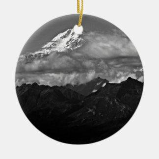 Denali Nationalpark Alaska der Mount McKinley Keramik Ornament