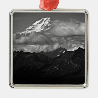 Denali Nationalpark Alaska der Mount McKinley Silbernes Ornament