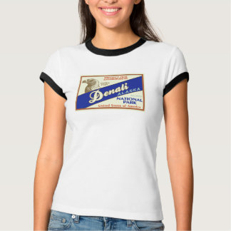 Denali Nationalpark (goldenes Eagle) T-Shirt