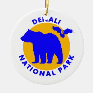 Denali Nationalpark Keramik Ornament