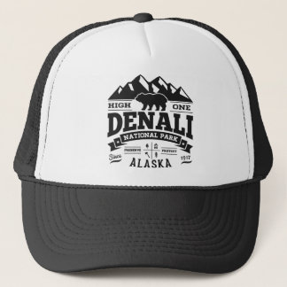 Denali Vintager Fernlastfahrer-Hut Truckerkappe