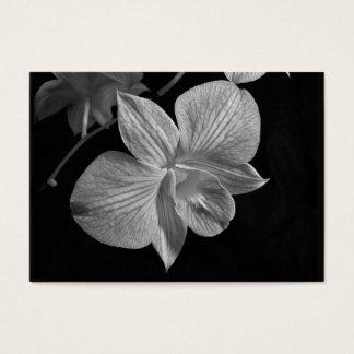 Dendrobium-Orchideen-Blüte ATC-Karte Visitenkarte