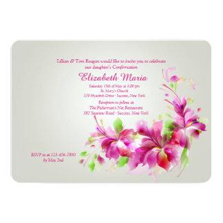 Dendrobium-Orchideen-Einladung 12,7 X 17,8 Cm Einladungskarte