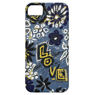 Denim-Liebe Etui Fürs iPhone 5