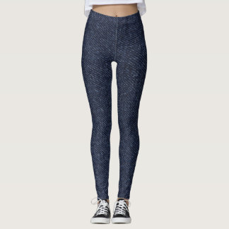Denimbeschaffenheit Leggings