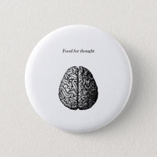 Denkanstoß Runder Button 5,1 Cm