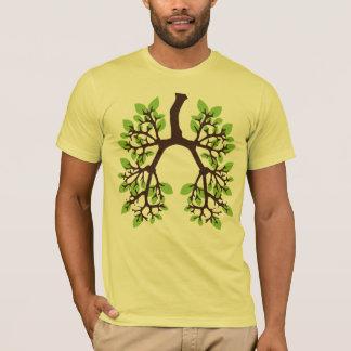 Denke ökologisch atmen Grün T-Shirt