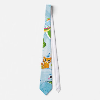 Denke ökologisch-Bewusstseins-glückliches Zitat Krawatte