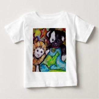 Denke ökologisch - Freunde Baby T-shirt