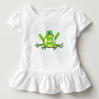 Denke ökologisch kleinkind t-shirt