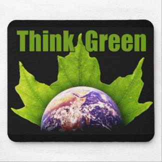 Denke ökologisch mousepad