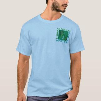 Denke ökologisch, retten Wasser T-Shirt