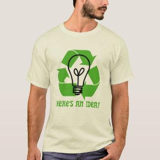 Denke ökologisch T-Shirt