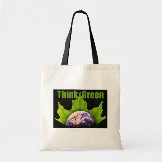 Denke ökologisch-Tasche