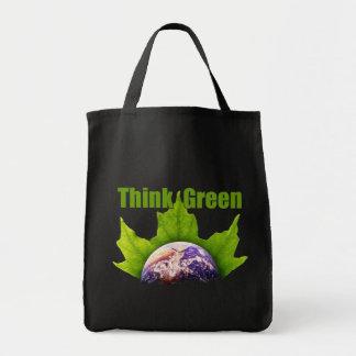 Denke ökologisch-Tasche Einkaufstasche