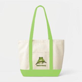 Denke ökologisch-Tasche Impulse Stoffbeutel