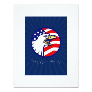 Denken an Sie auf Patriot-Tageskarte 10,8 X 14 Cm Einladungskarte