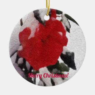 Denken an Sie Feiertags-Verzierung 4949 Keramik Ornament