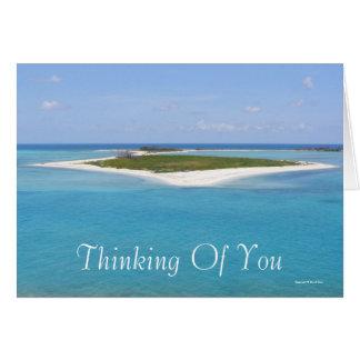 Denken an Sie (freier Raum) Grußkarten