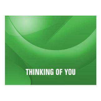 Denken an Sie Postkarte
