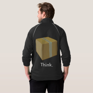 Denken Sie außerhalb der Kasten-Jacke Jacke