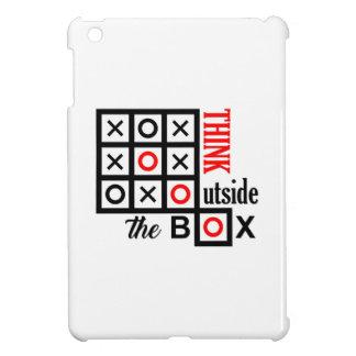 denken Sie außerhalb des Kasten tic tac-Zehe iPad Mini Hülle