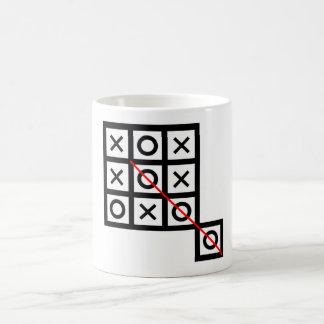 denken Sie außerhalb des Kasten tic tac-Zehe Kaffeetasse