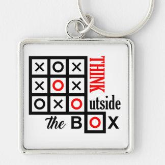 denken Sie außerhalb des Kasten tic tac-Zehe Schlüsselanhänger