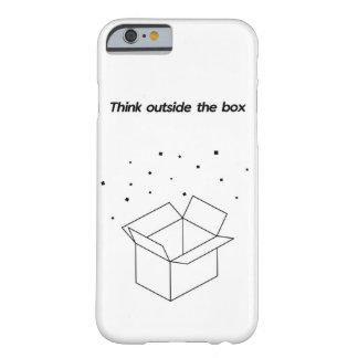 Denken Sie außerhalb des Kastens Barely There iPhone 6 Hülle