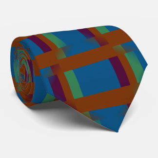 Denken Sie außerhalb des Kastens Bedruckte Krawatte