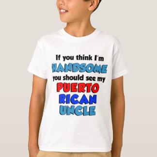 Denken Sie, dass ich hübscher puertorikanischer T-Shirt