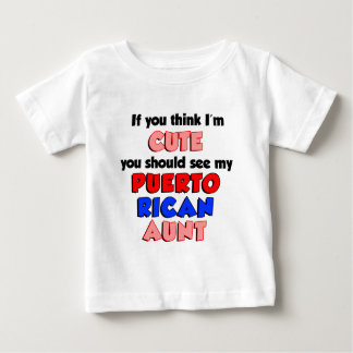 Denken Sie, dass ich niedliche puertorikanische Baby T-shirt