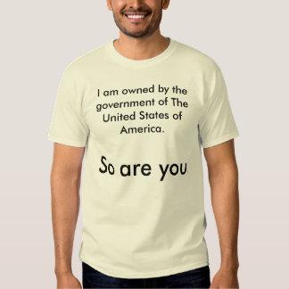 Denken Sie, dass Sie frei sind? Denken Sie wieder T-shirt