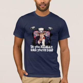 DENKEN Sie, DASS SIE FREI sind? T-Shirt